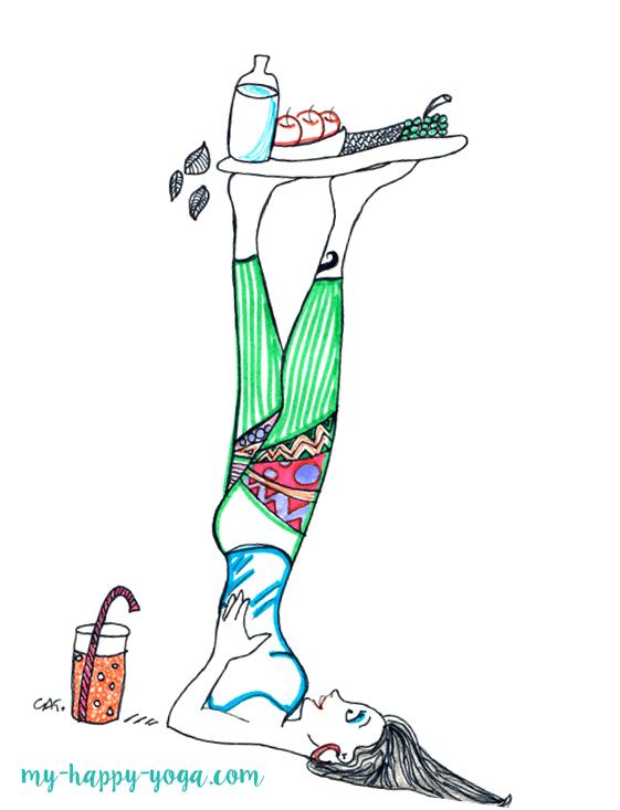Petit-déjeûner Yoga