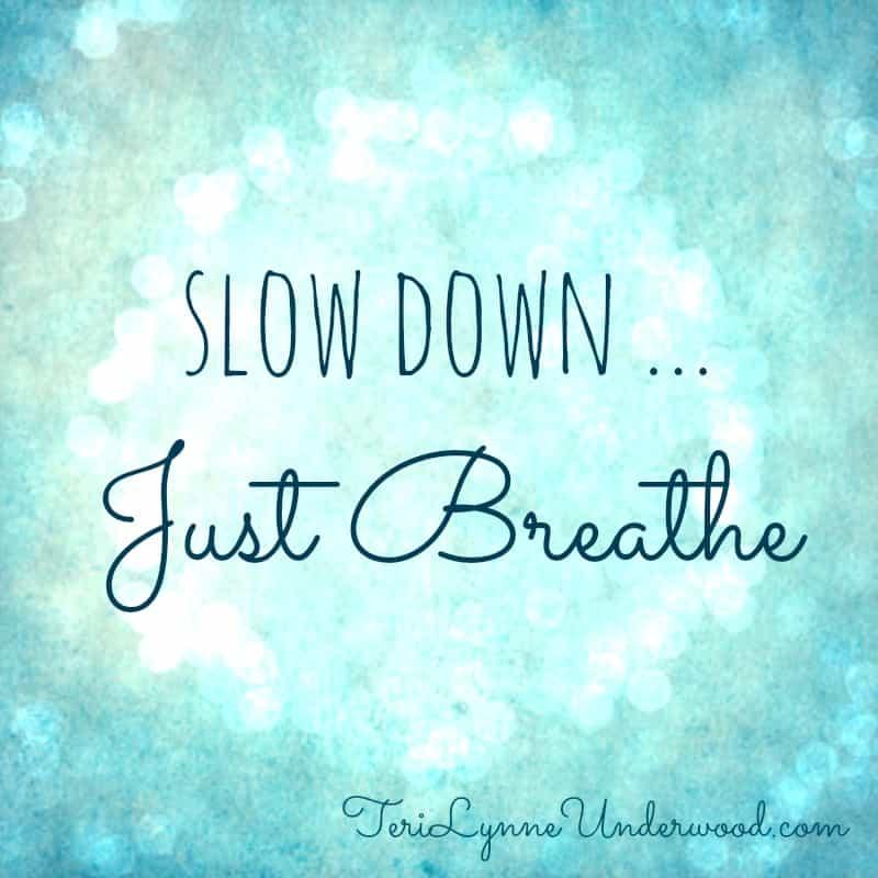 slow down just breath vinyasa yoga