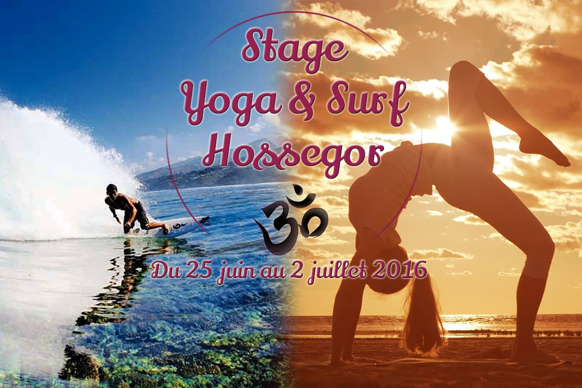 stage yoga et surf hossegor