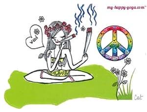 cannabis my happy yoga