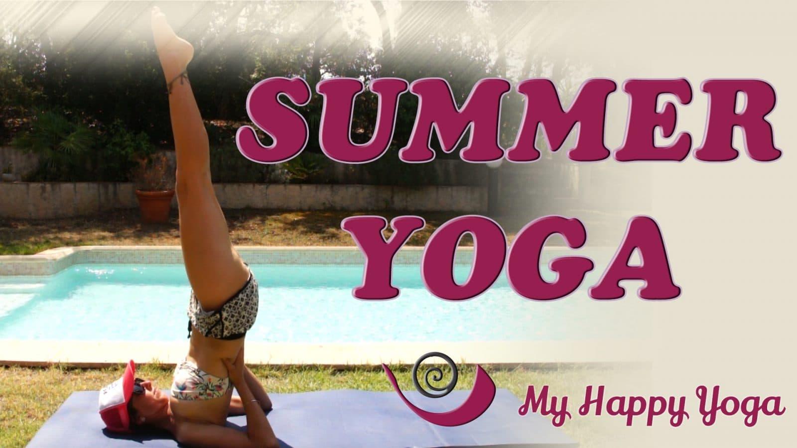 Yoga pour l'été