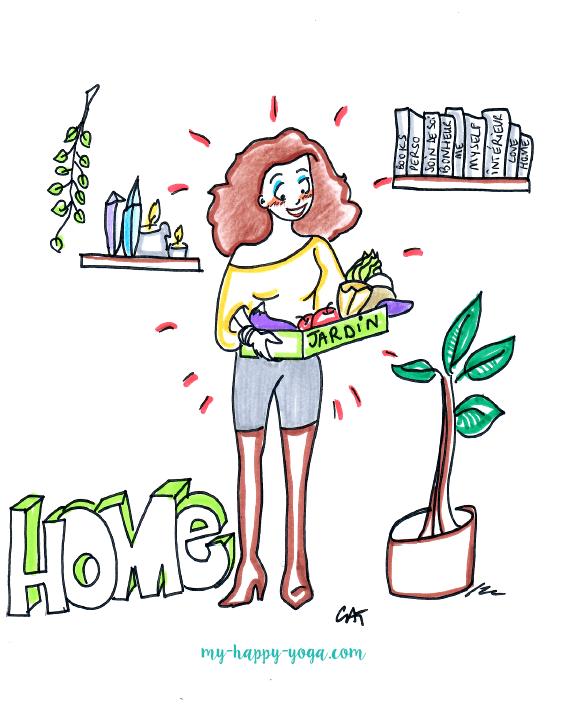 Clé du Bonheur n°1 – Entretenir le jardin