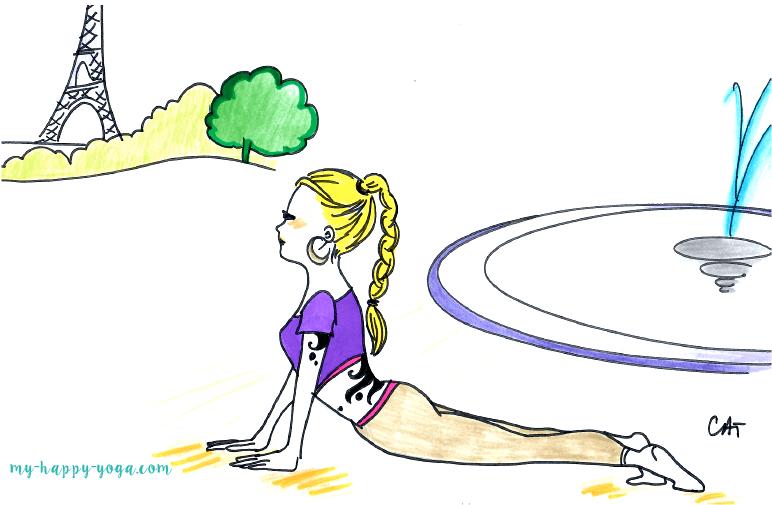 Cours de Yoga aux Tuileries ! ?