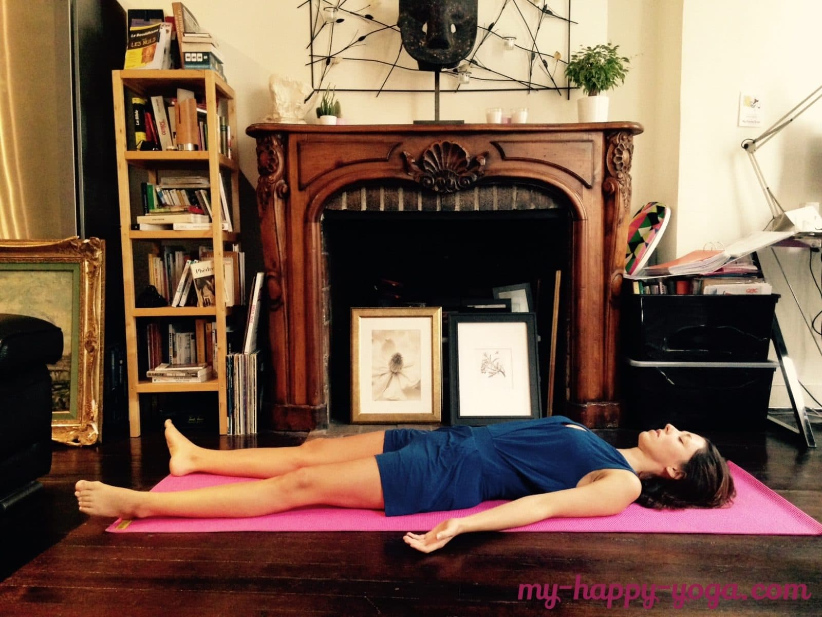 la posture de yoga la plus difficile au monde: savasana