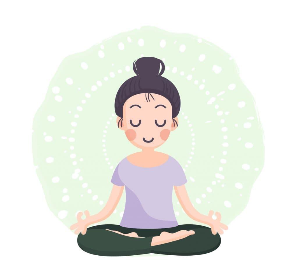 illustration yoga paris