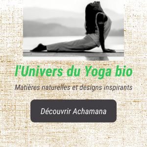 Achamana - Accessoires de yoga bio