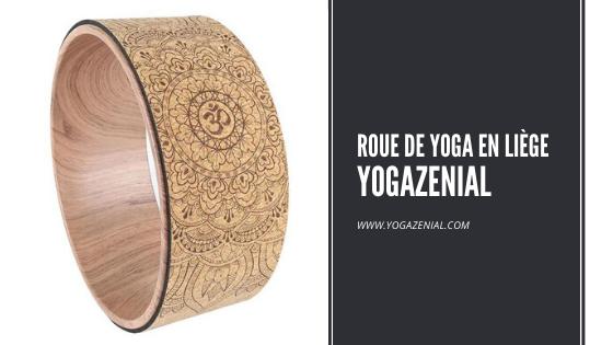 Roue de yoga en liège Yogazénial