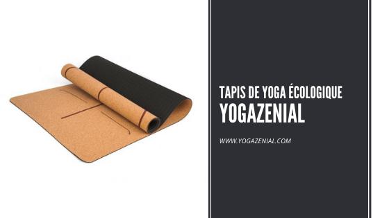 Tapis de yoga en liège Yoga Zénial